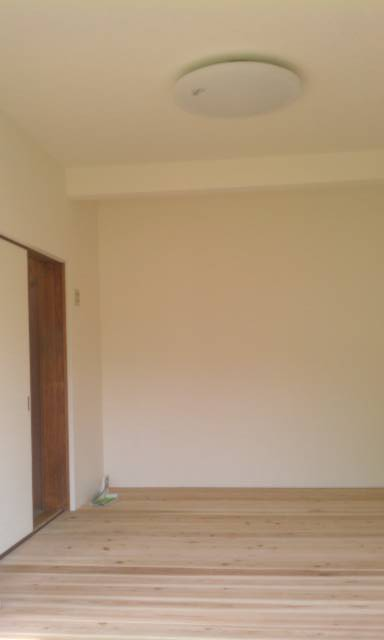 奈良県 生駒市 M様邸 無垢床リフォーム施工事例画像
