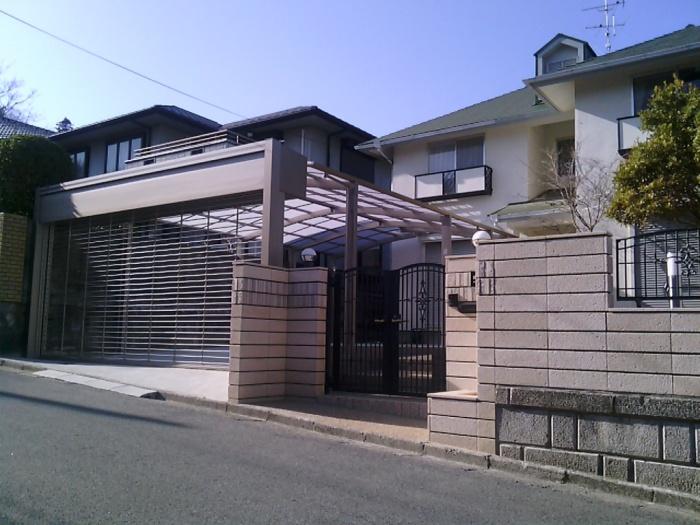 奈良県 奈良市 H様邸 ガレージ増設リフォーム施工事例写真