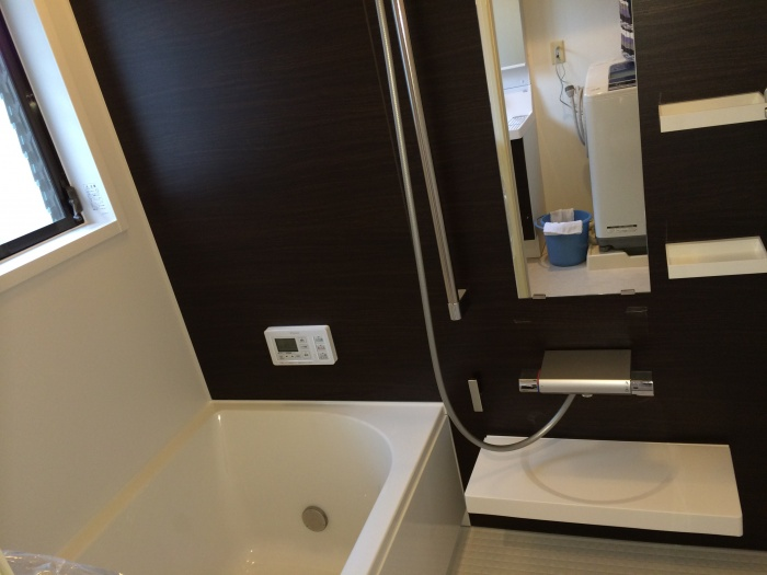 奈良県奈良市U様邸 ユニットバス・洗面台取替えリフォーム施工事例写真
