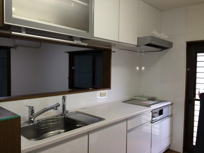 奈良県 奈良市 U様邸 キッチンリフォーム施工事例画像